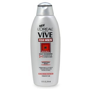 L'Oréal Vive for Men Daily Thickening 2 In 1 Shampoo & Conditioner Hair Shampoos uploaded by Veronica T.
