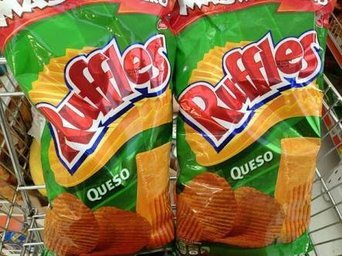 Ruffles® Queso Cheese Flavored Potato Chips uploaded by Valeria I.