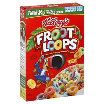 Kellogg's® Froot Loops® with Marshmallows Cereal 16.7 oz. Box uploaded by natasha c.