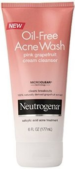 Photo of Neutrogena® Oil-Free Acne Wash Pink Grapefruit Cream Cleanser uploaded by Paulina C.