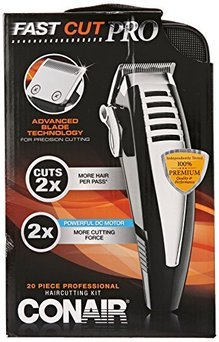 Conair Fast Cut Pro Haircutting Kit, 20 Pieces, 1 ea uploaded by Globos M.