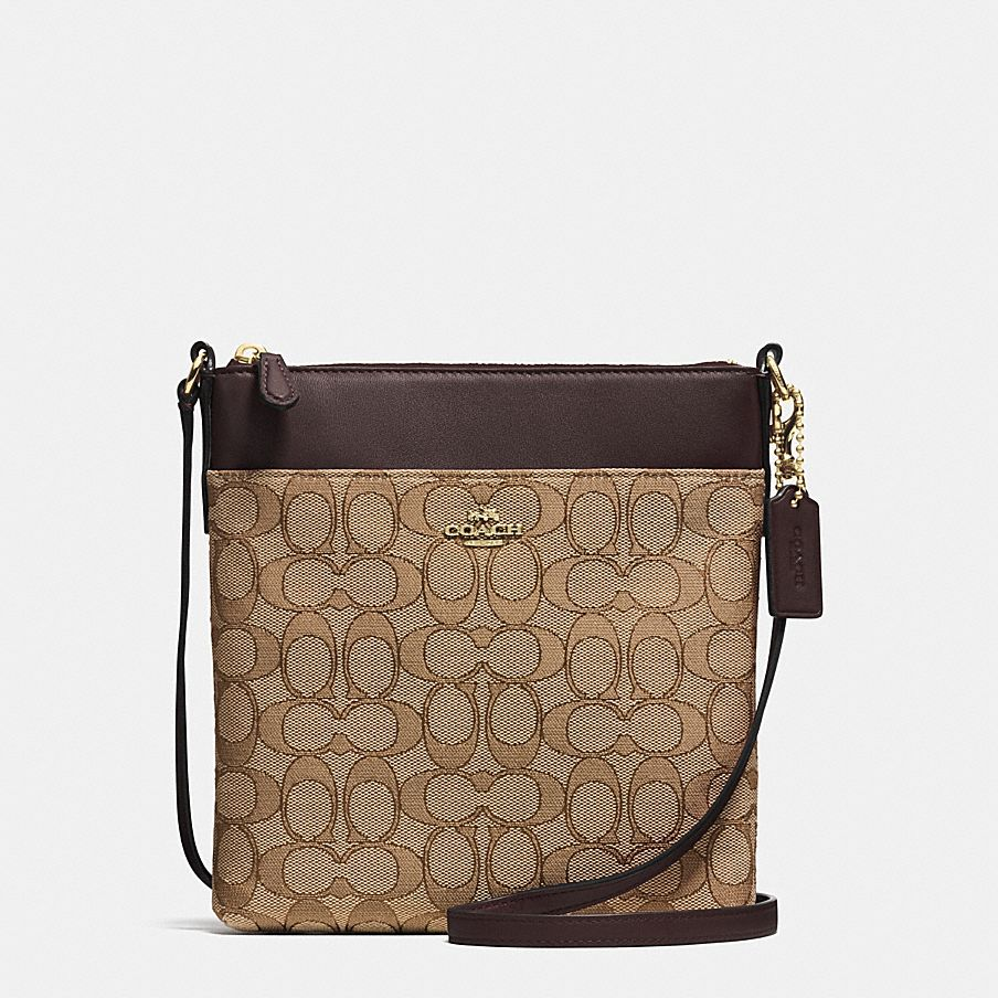 Coach Signature File Crossbody Bag 34938 [] uploaded by Diksha K.
