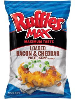 Ruffles Max Loaded Bacon & Cheddar Potato Skins  uploaded by Dianna G.