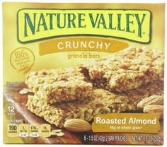 Nature Valley™ Roasted Almond Crunchy Granola Bars 1.49 oz. Pack uploaded by BARBARA R.