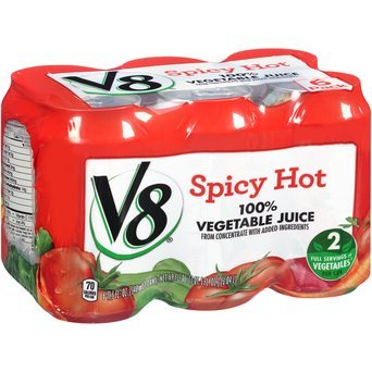 V8 100% Vegetable Juice Spicy Hot - 6 CT uploaded by Dusty K.