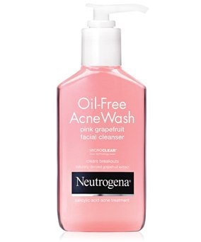 Neutrogena Oil-Free Pink Grapefruit Acne Wash Facial Cleanser uploaded by Luz S.