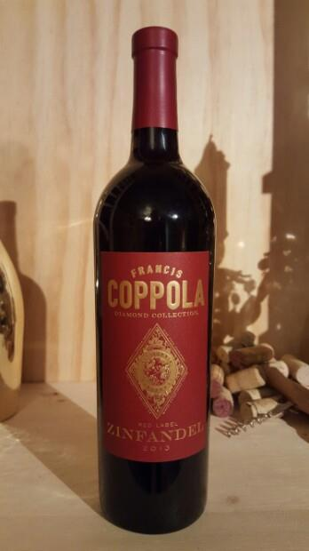 Francis Coppola Zinfandel Red Label uploaded by Deana M.