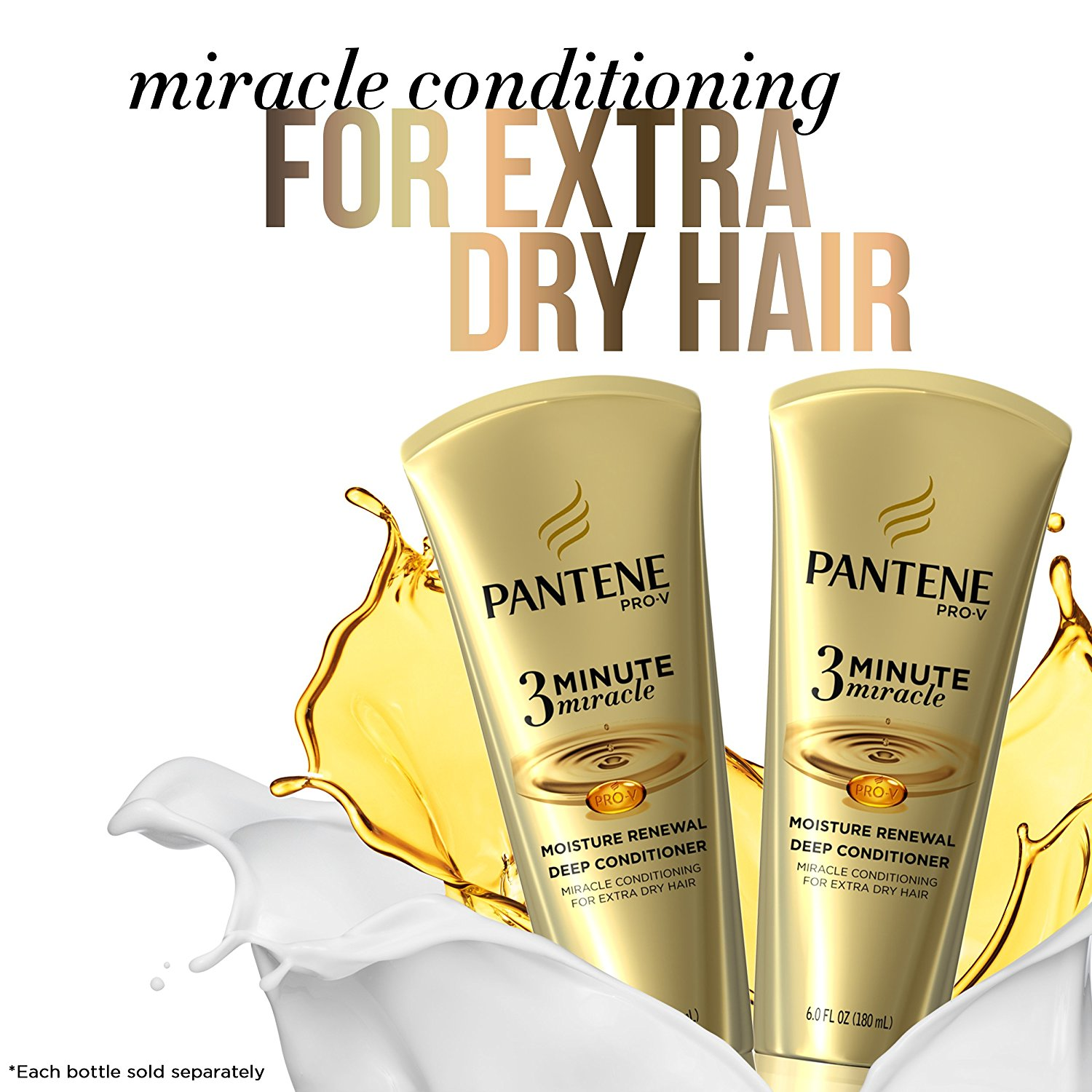 Photo of Pantene 3 Minute Miracle Moisture Renewal Deep Conditioner uploaded by Maria P.