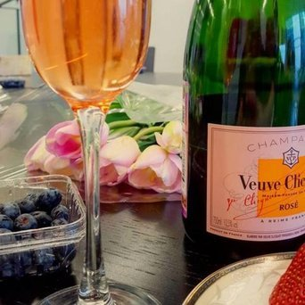Veuve Clicquot Brut Rose Champagne uploaded by Amelia S.