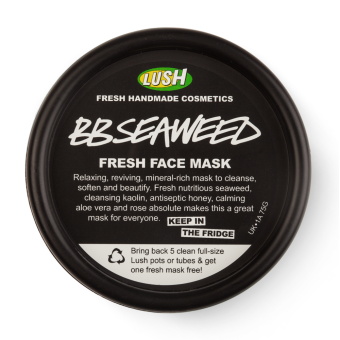 Photo of LUSH BB Seaweed Fresh Face Mask uploaded by jadean 🌶.