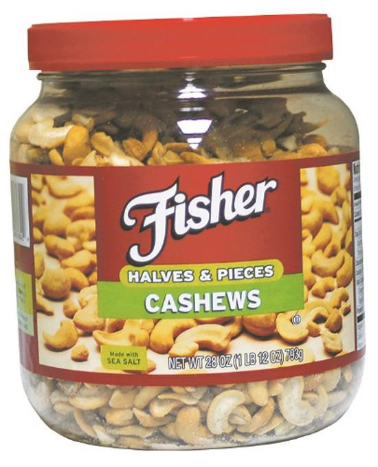 Fisher® Cashews Halves & Pieces 28 oz. Jar uploaded by Bonnie L.