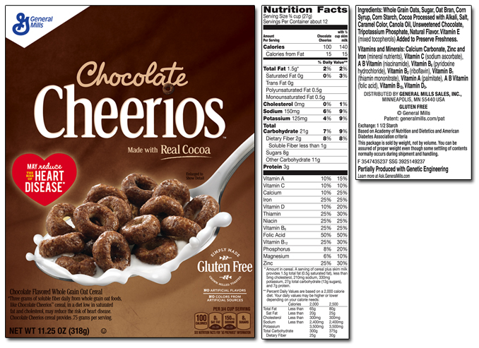 Cheerios Chocolate Cereal uploaded by Adina B.
