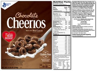 Chocolate Cheerios Cereal uploaded by Adina B.
