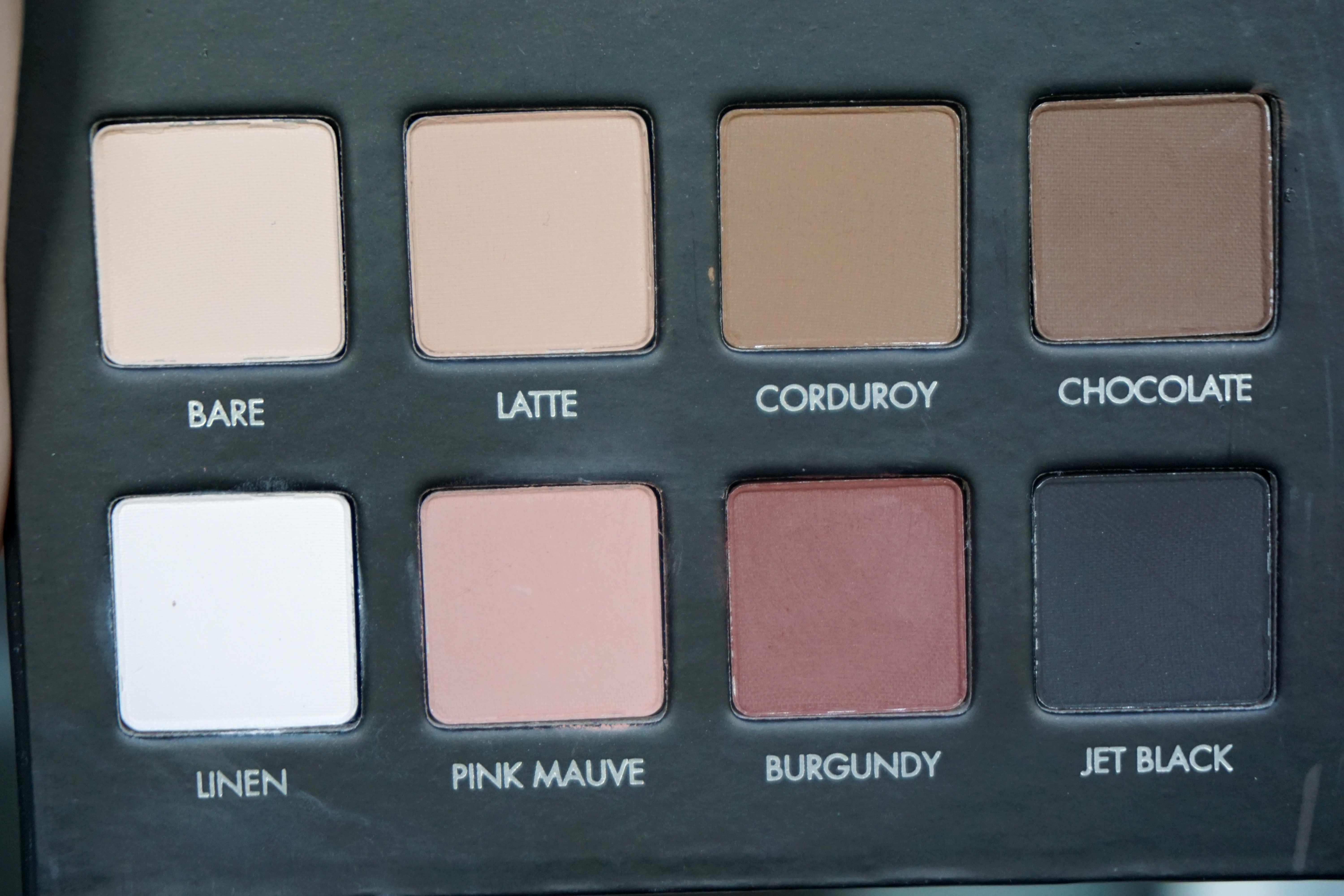 Photo of LORAC PRO Matte Eye Shadow Palette (Chocolate/Red/Latte) uploaded by Olga P.