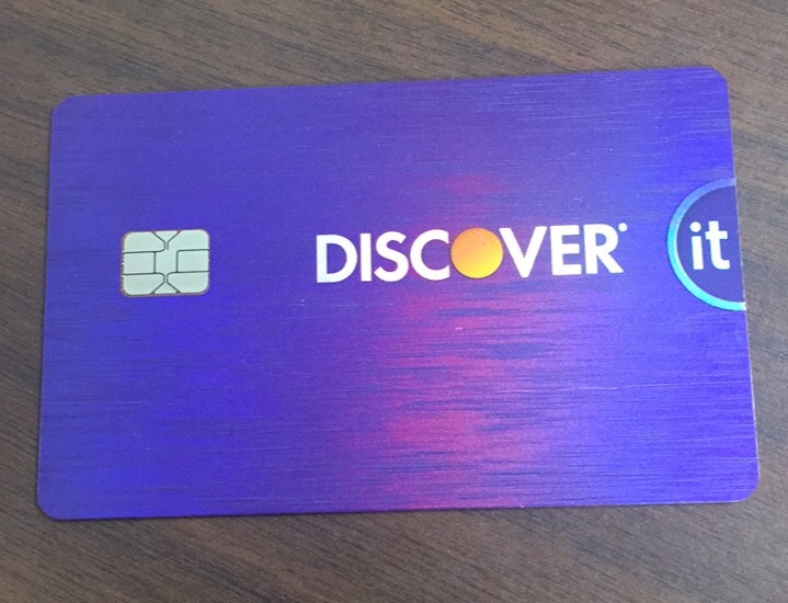 Discover it Cashback Match Credit Card uploaded by Danielle K.