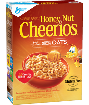 Cheerios General Mills Honey Nut Cereal uploaded by Bonnie L.