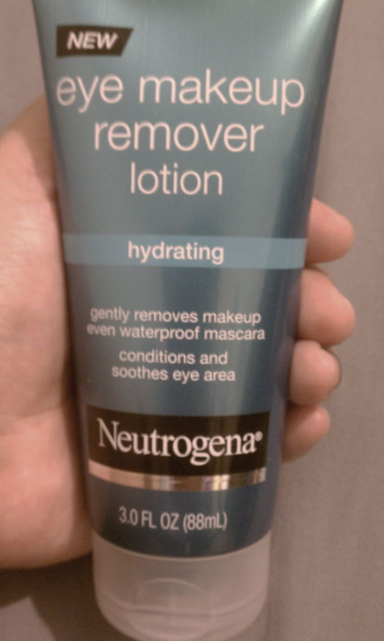 Neutrogena Hydrating Eye Makeup Remover Lotion uploaded by Jay A.