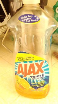 Ajax Triple Action Orange Dish Liquid uploaded by angela a.