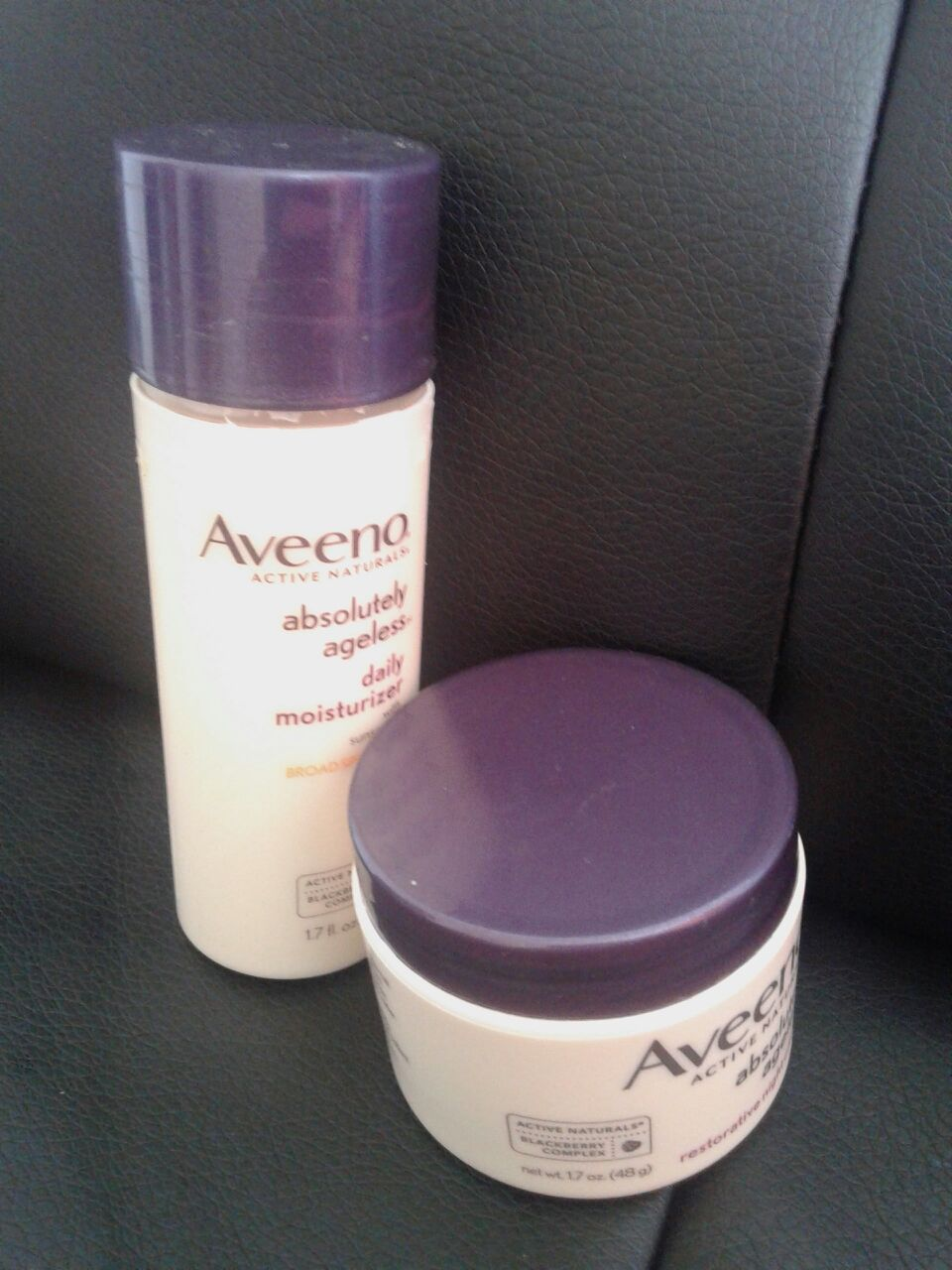 Aveeno Active Naturals Positively Ageless Night Cream with Natural Shiitake Complex uploaded by syamala r.