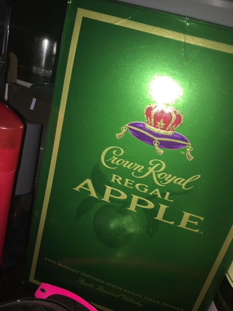 Photo of Crown Royal Canadian Whisky Regal Apple uploaded by Dana J.