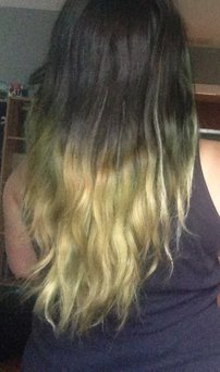 Splat Ombre Hair Color Kit uploaded by Allie M.