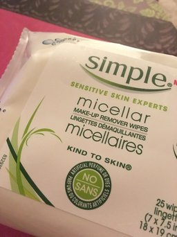 Simple Eye Make-Up Remover Pads uploaded by Jennifer R.