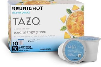 Tazo® Unsweetened Iced Mango Green Tea 10-0.16 oz. Cups uploaded by Elizabeth C.