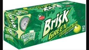 Photo of Brisk® Apple Iced Green Tea 12 Pack 12 fl. oz. Cans uploaded by Heather M.