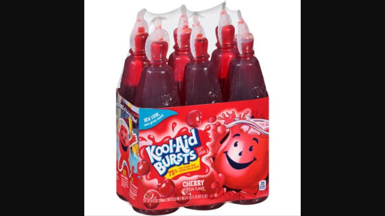Kool-Aid Bursts Cherry Soft Drink uploaded by Heather M.
