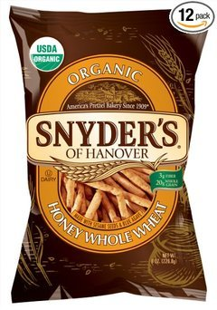 Snyder's of Hanover Organic Whole Wheat & Oat Sticks, 8-Ounce Bags (Pack of 12) uploaded by Cindy S.