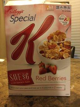 Kellogg's Special K Fruit & Yogurt Cereal uploaded by Samantha D.