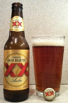 Dos Equis® Ambar Beer 12 fl. oz. Bottle uploaded by Andrea W.
