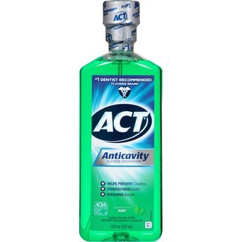 Act Restoring Anti-cavity Mouthwash - 0.6 oz (blue) (box of 48) uploaded by Raimey W.