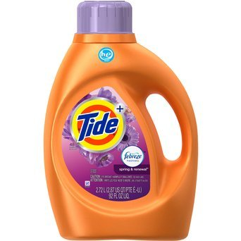 Tide Plus Febreze Freshness Spring And Renewal Scent HE Turbo Clean Liquid Laundry Detergent uploaded by Celeste E.