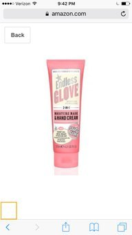 Soap & Glory Endless Glove 2-In-1 Moisture Mask & Hand Cream 4.2 oz uploaded by Ayanna F.