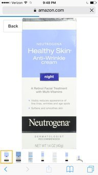 Neutrogena® Healthy Skin Anti-Wrinkle Anti-Blemish Cleanser uploaded by Ayanna F.