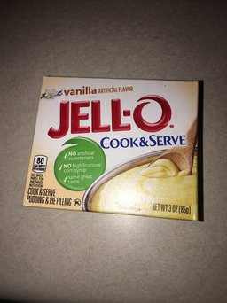 JELL-O Cook & Serve Pudding & Pie Filling Vanilla uploaded by Caitlin K.