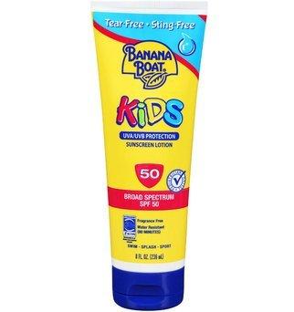 Banana Boat Kids Tear Free Sunscreen Lotion SPF 50, 8 Oz uploaded by Danielle W.