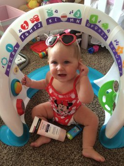 Neutrogena Pure & Free Baby Sunblock SPF 60+ uploaded by Jenna B.