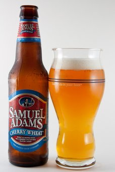 Samuel Adams Cherry Wheat Beer uploaded by Lori T.