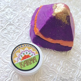 LUSH Karma Bubble Bar uploaded by Cherise1676 ..