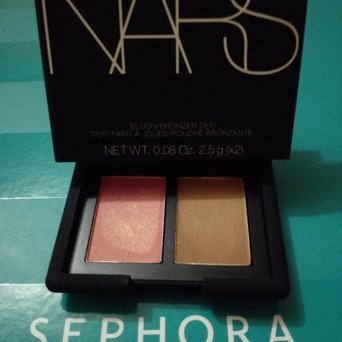 NARS Blush Duo Hot Sand/ Orgasm 2 x 0.17 oz/ 5.02 g uploaded by Alba G.
