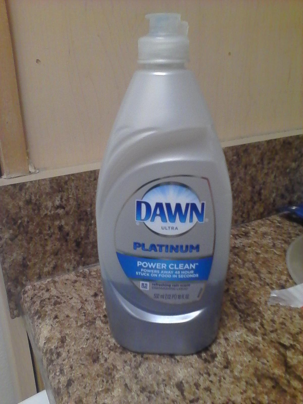 Dawn Platinum Bleach Alternative Dishwashing Liquid Morning Mist uploaded by Julia S.