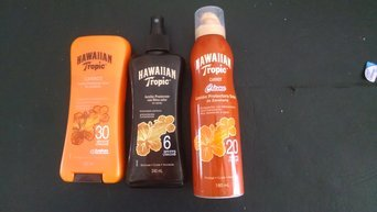 Hawaiian Tropic Protective Dry Oil Sunscreen uploaded by Luucre F.