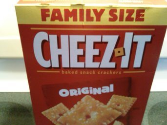 Cheez-It® Asiago Baked Snack Crackers uploaded by pauline t.