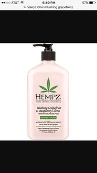 Hempz Blushing Grapefruit & Raspberry Crme Body Moisturizer uploaded by Chareese R.
