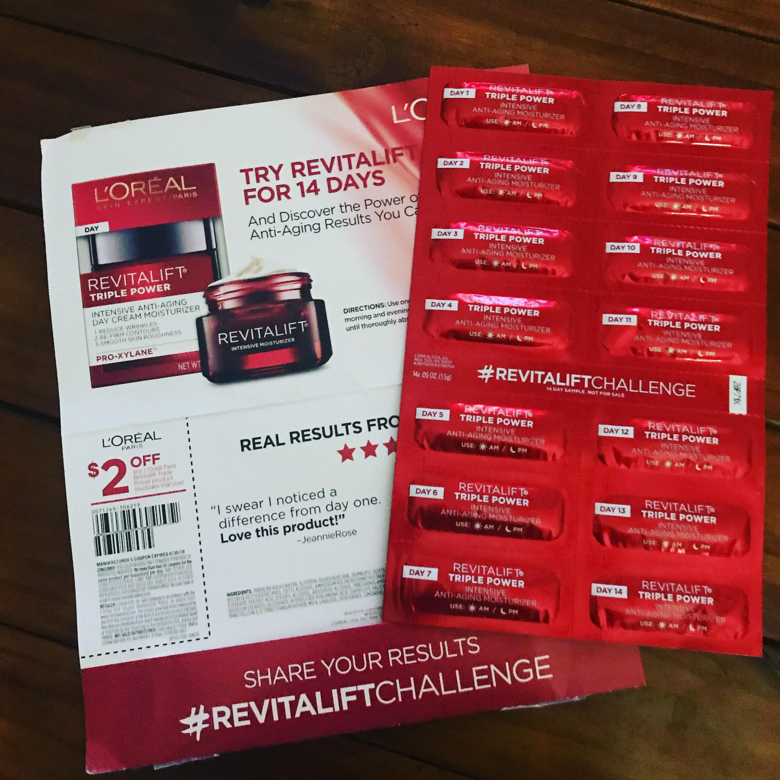 Photo of L'Oréal Paris RevitaLift® Triple Power™ Intensive Anti-Aging Day Cream Moisturizer uploaded by Claribel R.