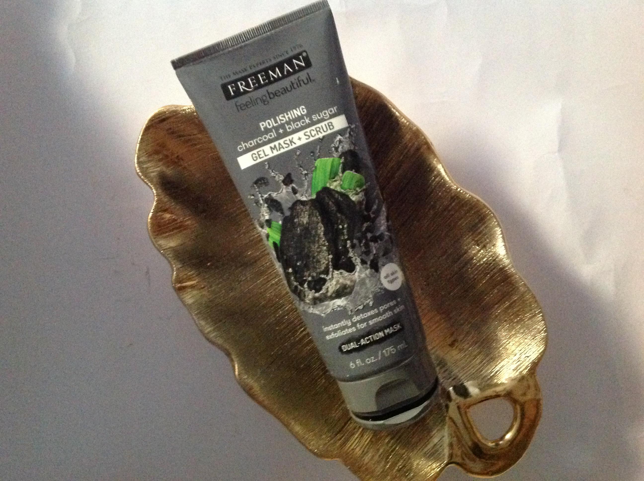 Photo of Freeman Beauty Feeling Beautiful™ Charcoal & Black Sugar Polishing Mask uploaded by Nneka A.