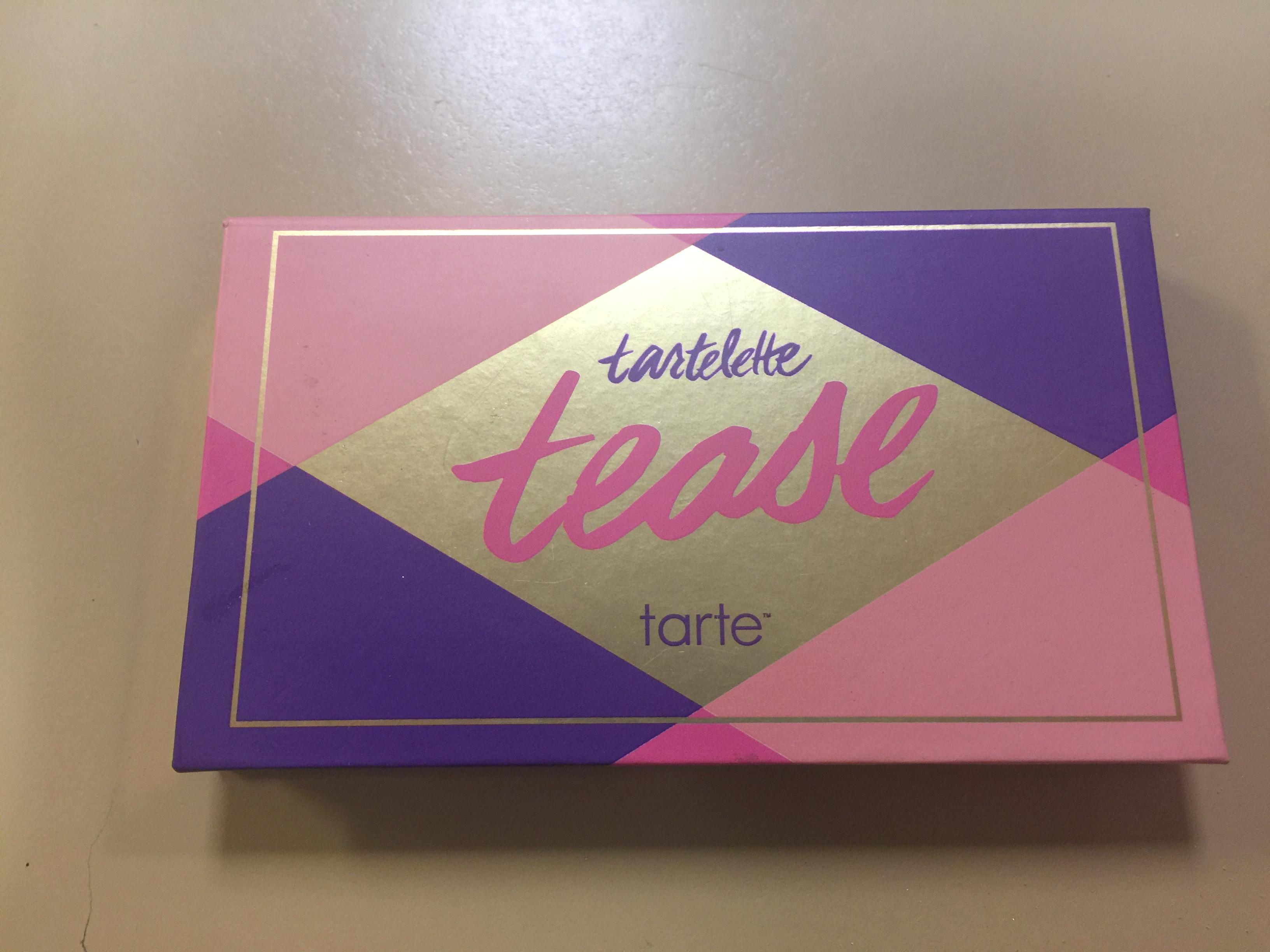 tarte Tartelette Tease Clay Palette uploaded by Katie G.
