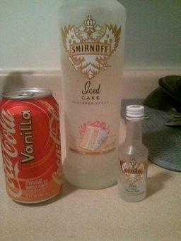 Smirnoff Iced Cake Vodka  uploaded by Marisol A.
